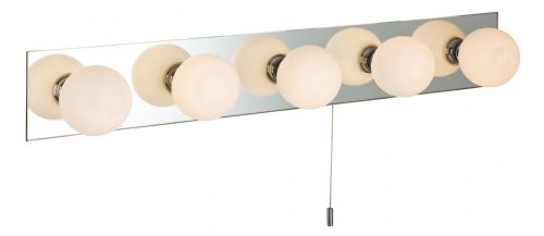Firstlight 6410 Mirror with Opal Glass Showtime Mirror Wall Lt (Switched)